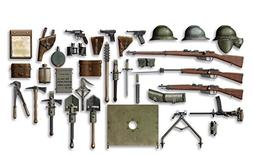 ICM Models WWI Italian Infantry Weapon and Equipment Model K