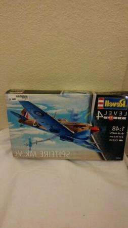WWII BRITISH SPITFIRE MK.VC REVELL 1:48 SCALE PLASTIC MODEL