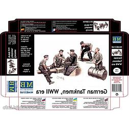 "Master Box Models ""German Tankmen"" WWII Era - 5 Figures Set"