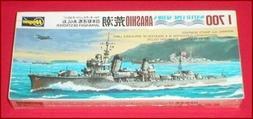 Hasegawa WWII Japanese Navy Destroyer Arashio 1/700 Scale Mo