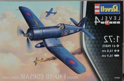 WWII ROYAL NAVY F4U-1B CORSAIR REVELL 1:72 SCALE PLASTIC MOD