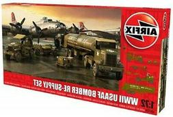 Airfix WWII USAAF 8th Airforce Bomber Resupply Set - Plastic