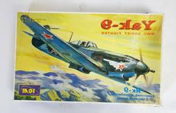 ICM Yak-9 WWII Soviet Fighter - 1:72 Scale Plastic Model 720