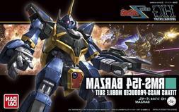 Bandai Z Zeta Gundam HGUC RMS-154 Barzam HG 1/144 Model Kit